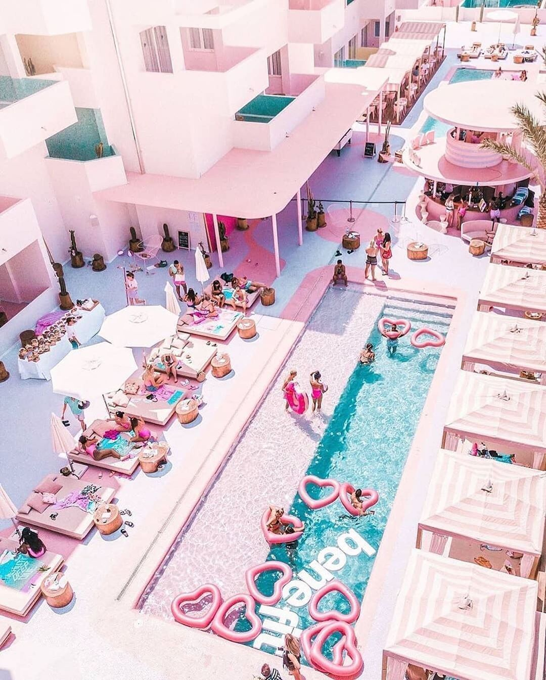Uncommon Hotels On Instagram Pink Vibes At The Paradiso Ibiza Art Hotel In Ibiza Spain Uncommonhotels Harrison Parad Pink Hotel Hotel Ibiza Ibiza