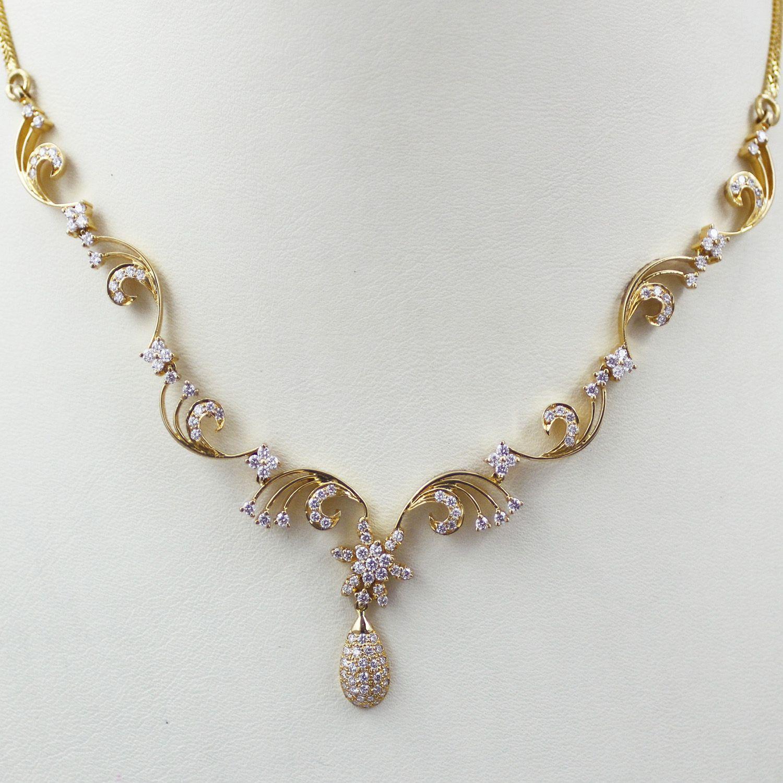Fancy Diamond Necklace | Necklace | Pinterest | Fancy, Diamond and ...