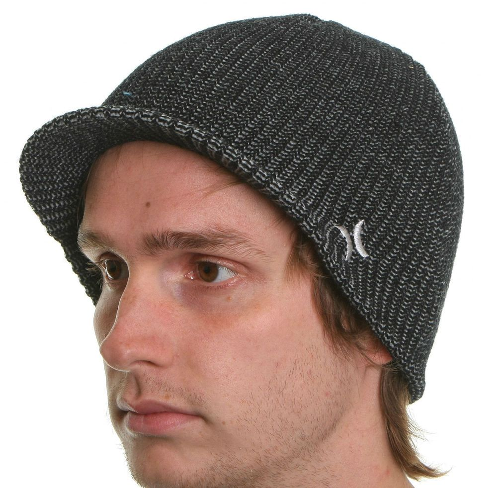 0456ce8283a New HURLEY Beanie Depth Visor Water Repellent Hat  Hurley  Beanie  ebay   deals  fashion  mens  skate  surf