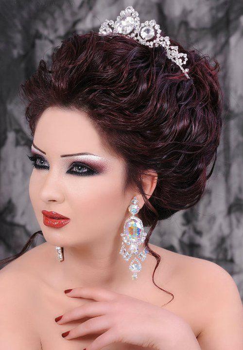 كتالوج ميك اب وتساريح للعرايس Bridal Hair And Makeup Bride Beauty Hair Styles
