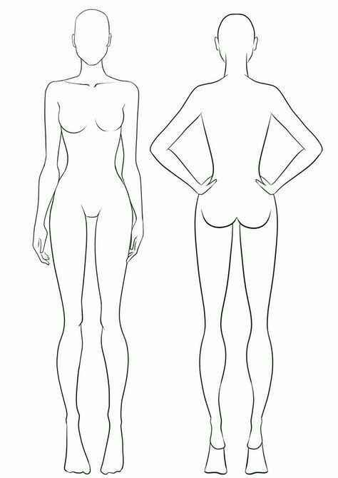 Pin By Johnny Mạch On Cizim In 2020 Fashion Illustration Sketches Dresses Fashion Illustration Template Fashion Model Sketch