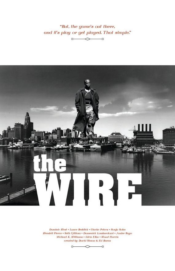 the wire poster etsy in 2021 the
