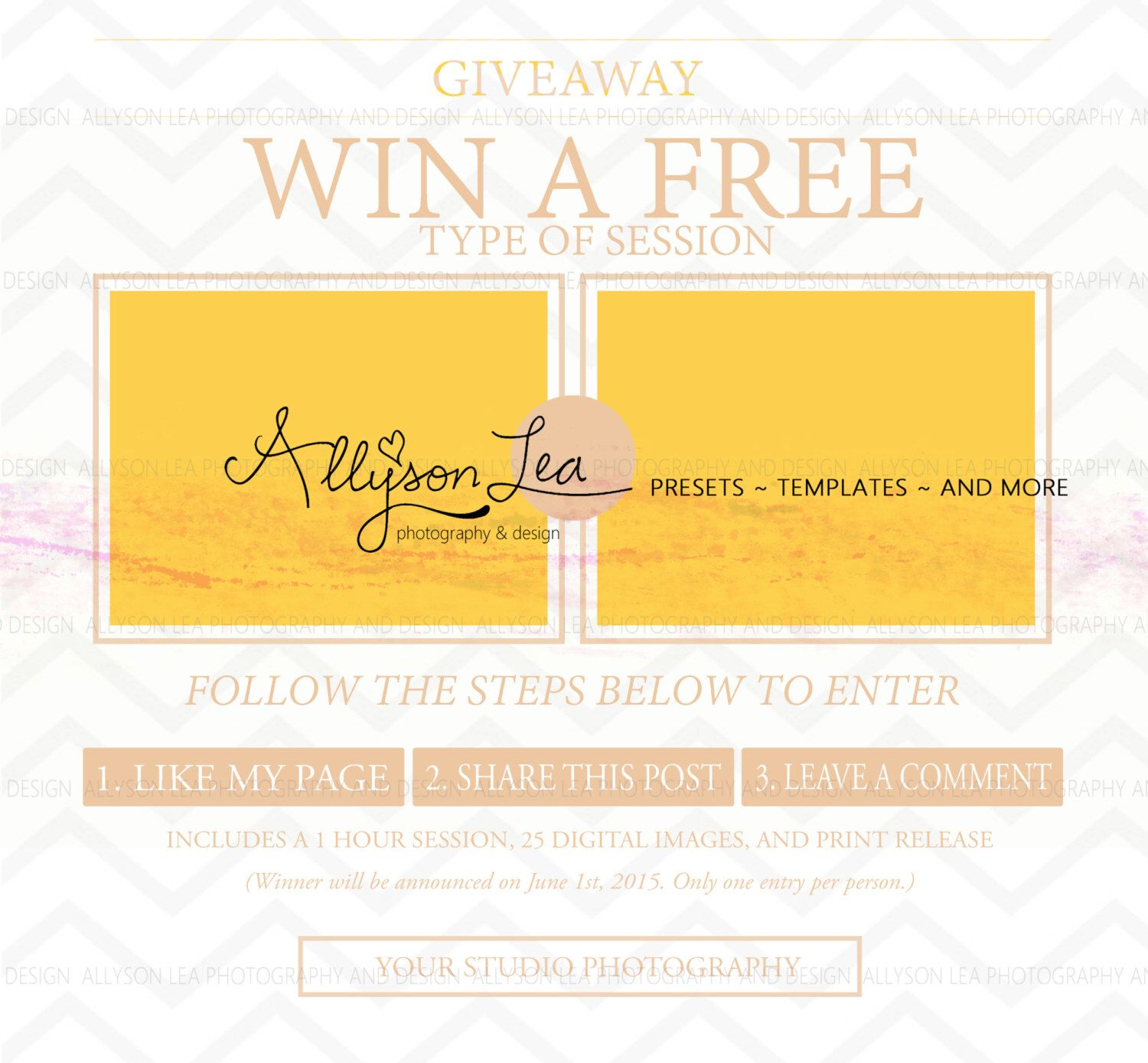 giveaway template by allysonleadesign on com giveaway template by allysonleadesign on com