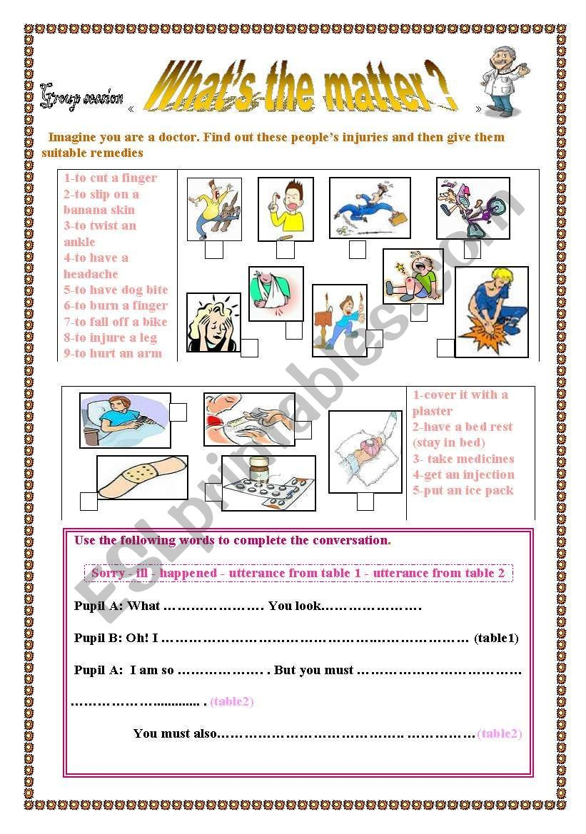 What´s the matter? worksheet   Matter worksheets [ 1169 x 821 Pixel ]