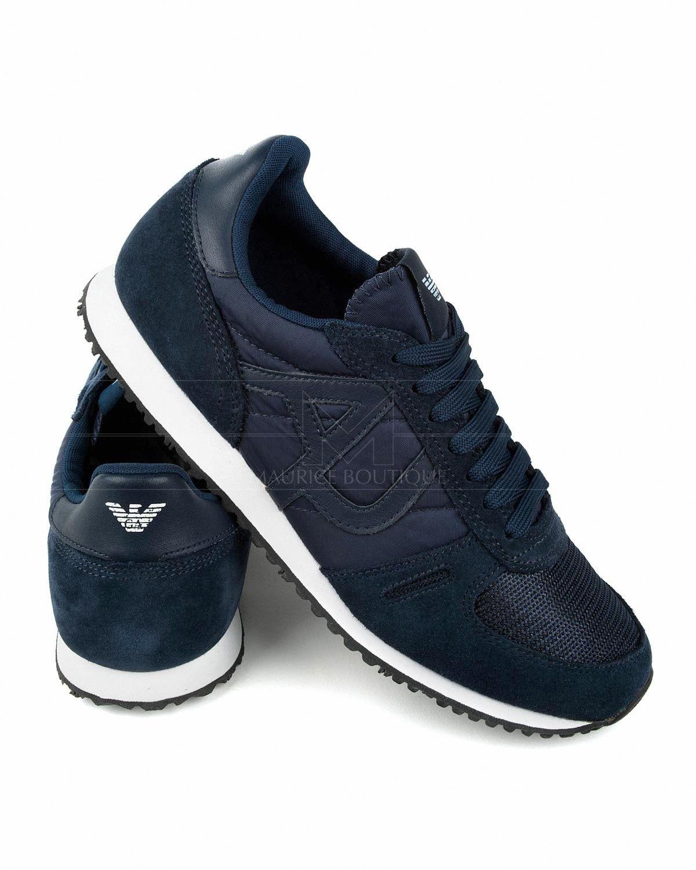 cheap for discount 53672 99fde Zapatillas Armani Jeans - Azul Marino   Envío Gratis