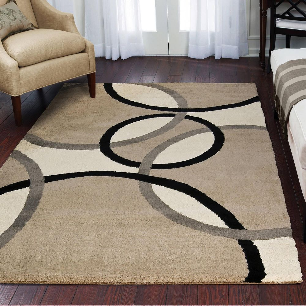 Rugs Area Rugs Carpets 8x10 Rug Floor Modern Large Big Cool Beige Cream New Rugs Ebay Buying An Area Rug Is A Fantast In 2020 Rugs On Carpet Decor Affordable Decor
