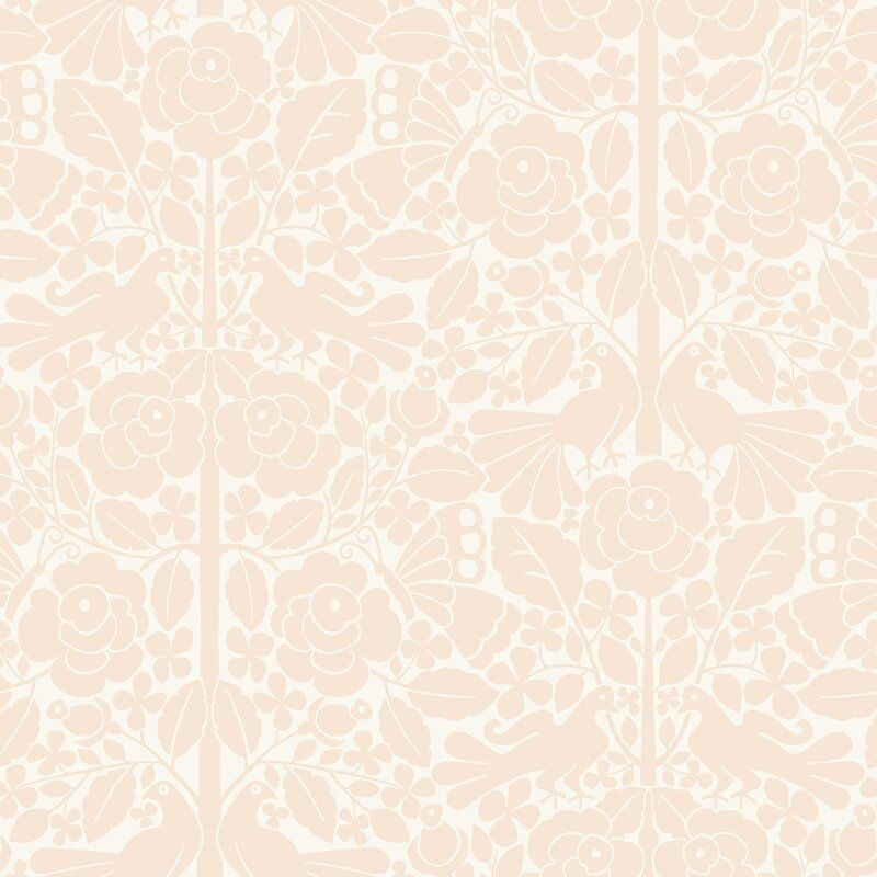 Harlee Fairy Tales 33 L X 20 5 W Wallpaper Roll In 2020 Magnolia Homes Wall Coverings Pink Wallpaper