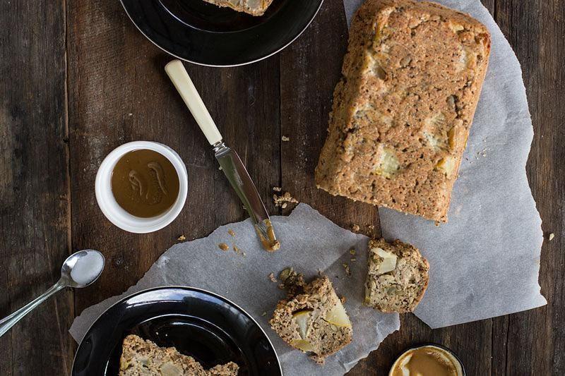 jessica cox   pear cinnamon & seed loaf