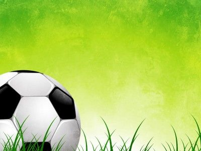 Soccer Ball On Green Grass Abstract Ppt Backgrounds Soccer Ball Soccer Tennis Pictures