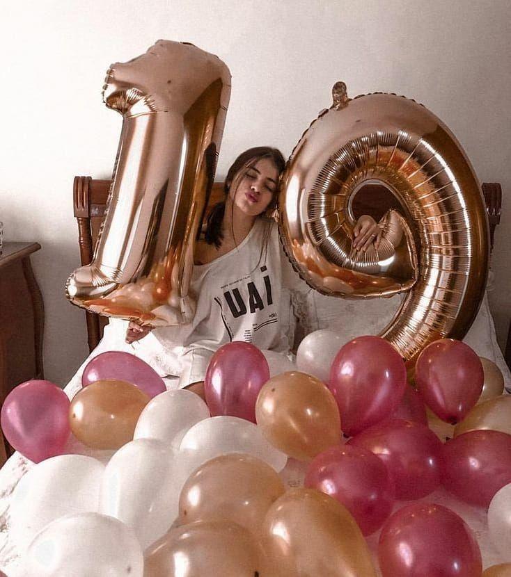 Instagram/ Jaden Hossler in 2020   Birthday balloons