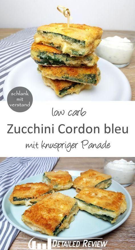 Zucchini Cordon bleu low carb A fast low carb recipe Perfect for healthy