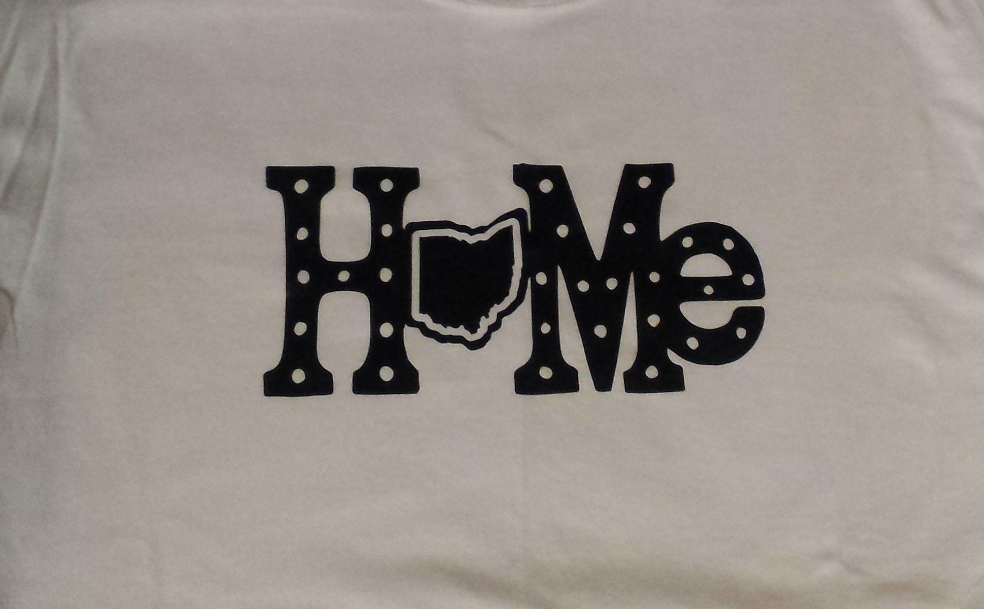 Ohio Heart Of It State Love Your Home Custom Noveltee Shirt Shirts