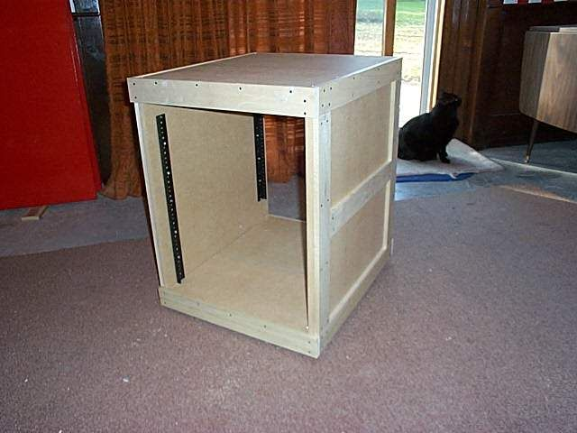 DIY server rack...My husband is building this! | Projects For Mike ...
