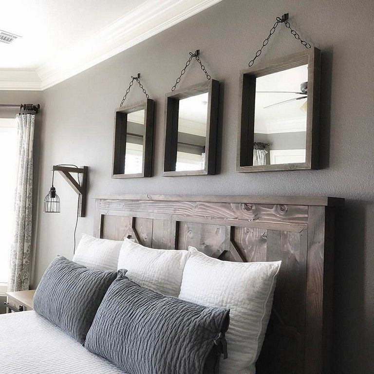 42+ Unbelievable Rustic Farmhouse Style Master Bedroom ...