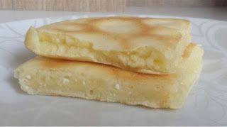 Pão de queijo de frigideira fit