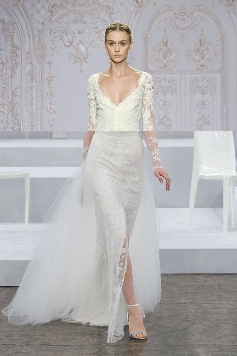 bf560f62b5 We ve solved the mystery of Jamie Chung s Monique Lhuillier wedding gown -  come see!