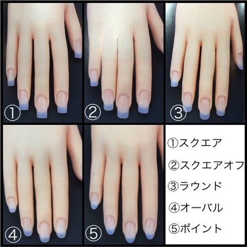 大流行中の「棺桶型」ネイルって?爪の形の種類とその特徴❇ ❇ ❇ , Itnail