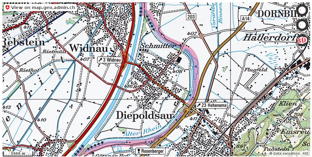Diepoldsau SG Verkehr Stau Staumeldungen http://ift.tt/2ranaHd #geoportal #Cartography