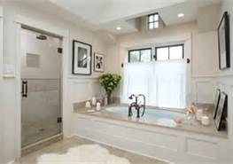 white tub surround