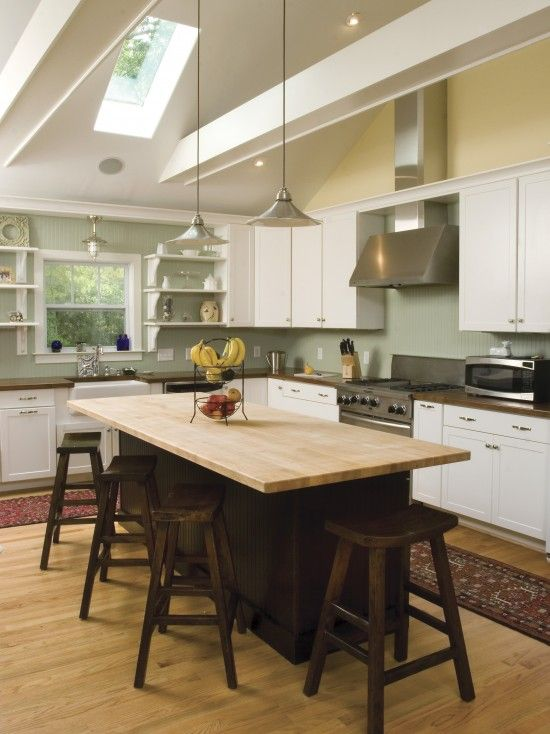 Kitchen Island With Seating On 3 Sides?