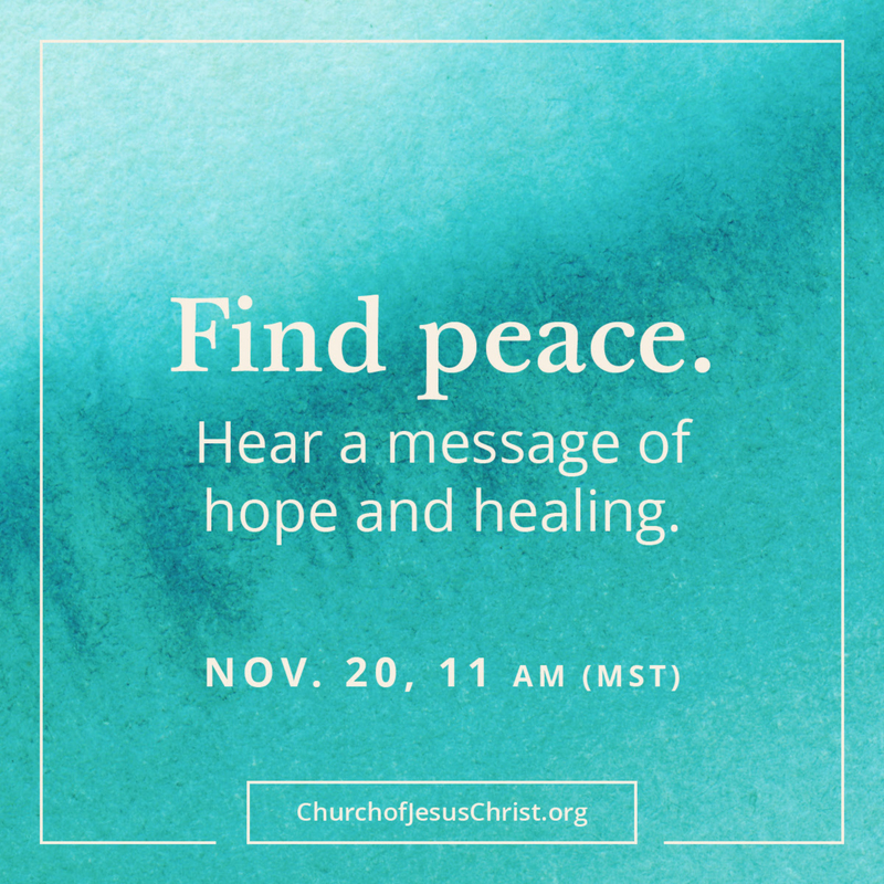 ✨I could use a message of peace, hope & healing about now! I'm going to be sure to tune in -- hope you will join me. 🙏💙 #messageofpeace #hope2020 #presidentnelson #healthimomcoaching #healthimomoils