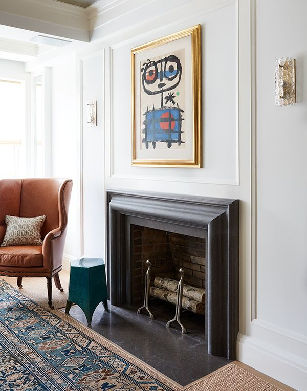 Interior Design Fireplace Living Room: Carnegie Hill Fireplace Interior Design Pappas Miron