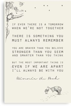 Winnie The Pooh Inspiration For Grief And Loss Over A Person Or Pet Petloss Love