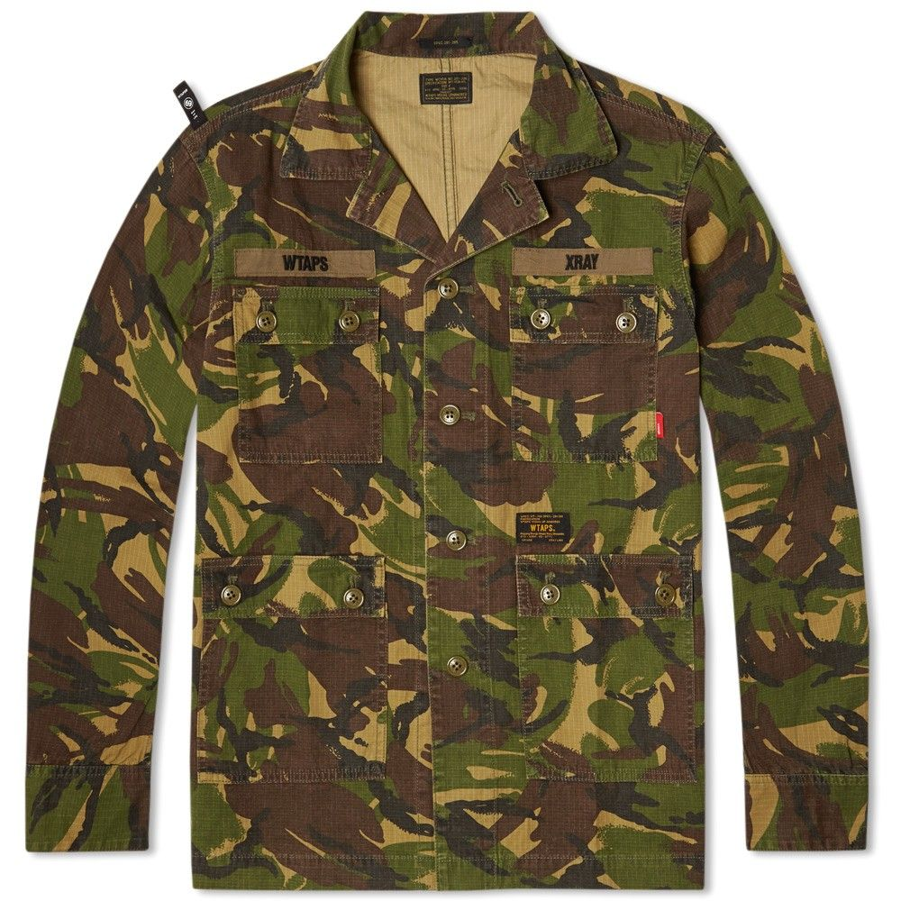 71401bf94274f WTAPS Jungle Shirt (DPM Tropical) | CAMO! | Shirts, Mens fashion:__ ...