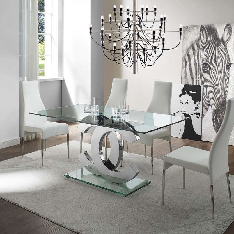 Sale 600 00 How Beautiful Is This Chrome Chanel Dining Room