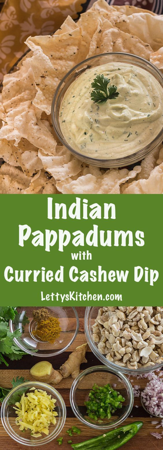 These gluten-free crackers puff up right before your eyes. Dip them into creamy green curry dip. Vegan. [from LettysKitchen.com]