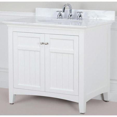 Pegasus Carrabelle 36 Vanity In Glacier White Bathroom Vanities Without Tops 36 Vanity 30 Inch Bathroom Vanity
