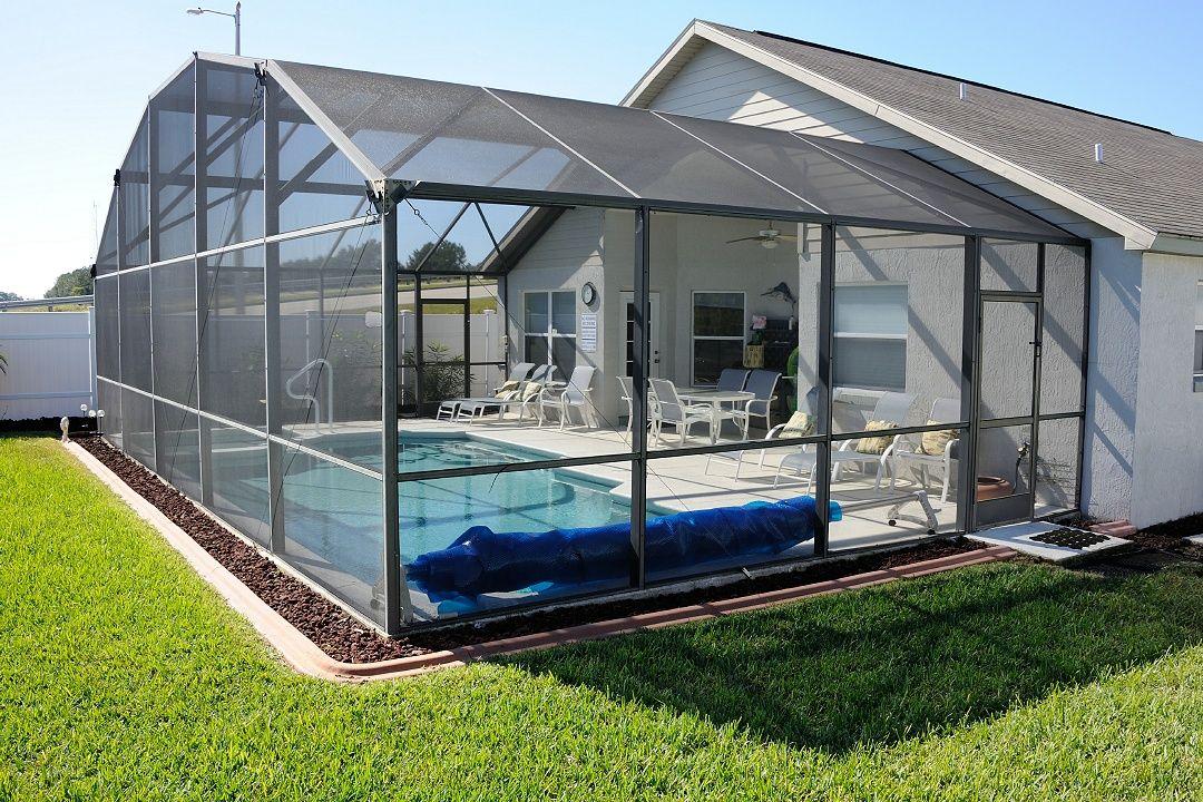 Screened In Pool Patio Screened Pool Indoor Pool Design Swimming Pool Enclosures