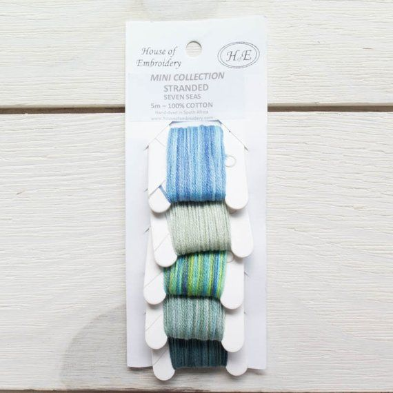 The Sea House of Embroidery Stranded Threads