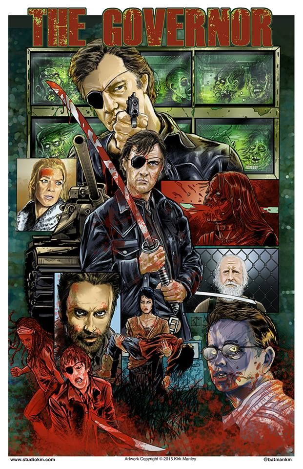 The Governor The Walking Dead Art Walking Dead Art Walking Dead Fan Art The Walking Dead Tv
