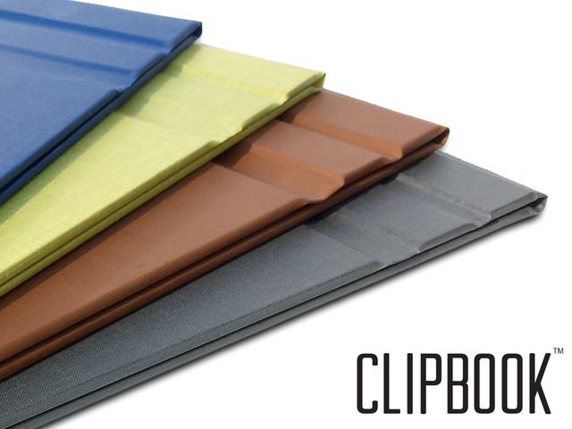 ($29.95) The durability and protection of a hardcover book. The natural flipping motion of a notepad. New, yet so familiar. Now available for pre-order in high quality book cloth or premium faux leather.
