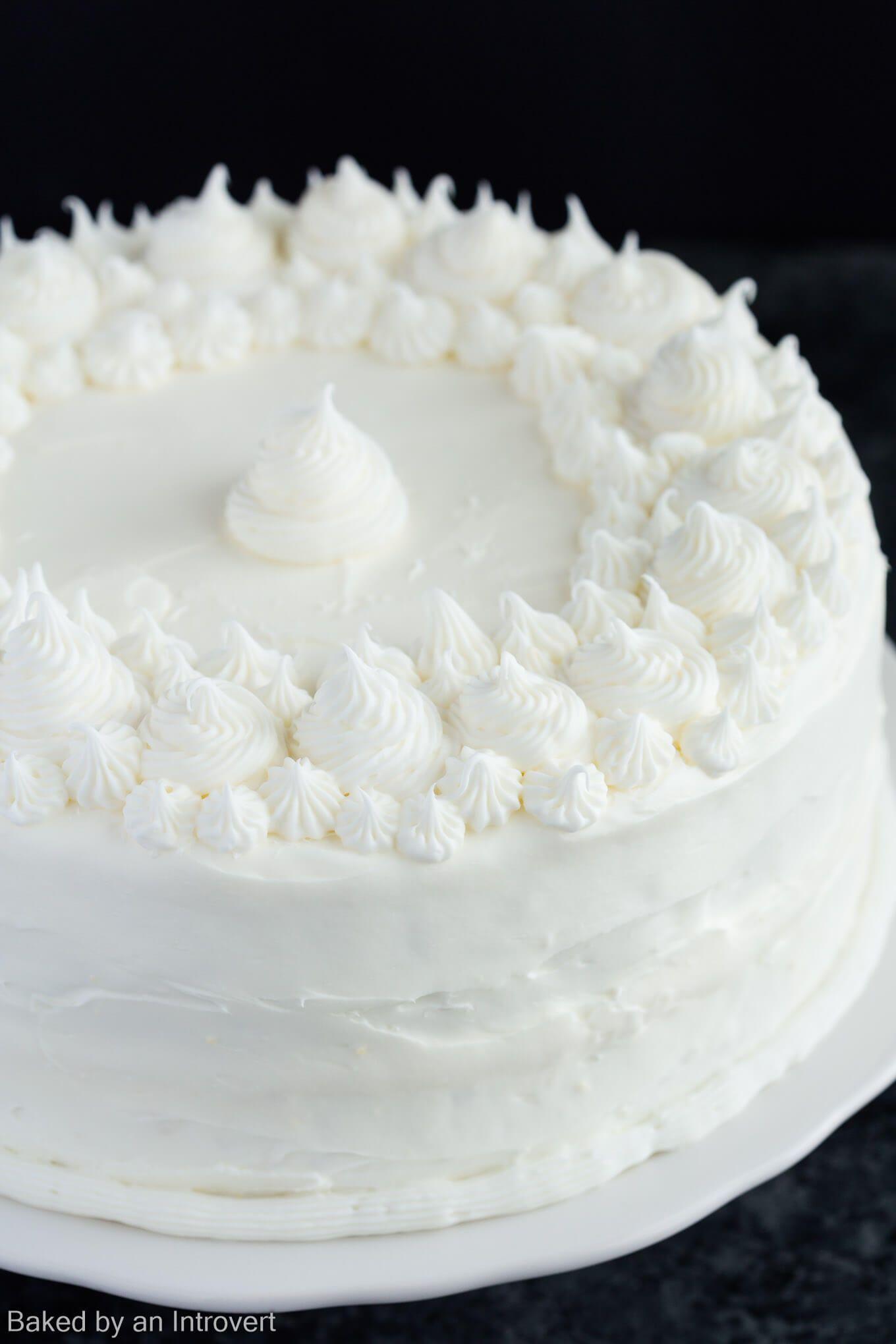 Basic Vanilla Cake Recipe Cake Recipes Basic Vanilla Cake