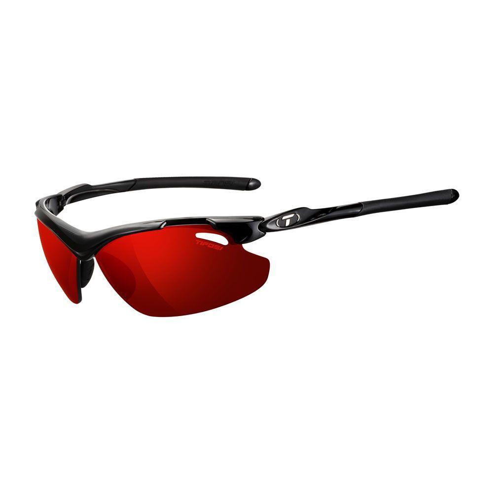 0eaa04c4cbd Tifosi Tyrant 2.0 Polarized Single Lens Sunglasses - Clarion Mirror  Collection - Gloss Black