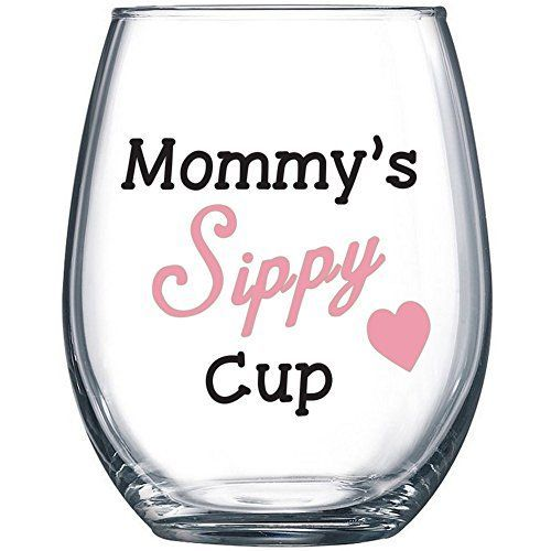 29+ Unique and Personal Gifts for New Moms 2019   Mom wine glass, Diy gifts for mom, Wine mom