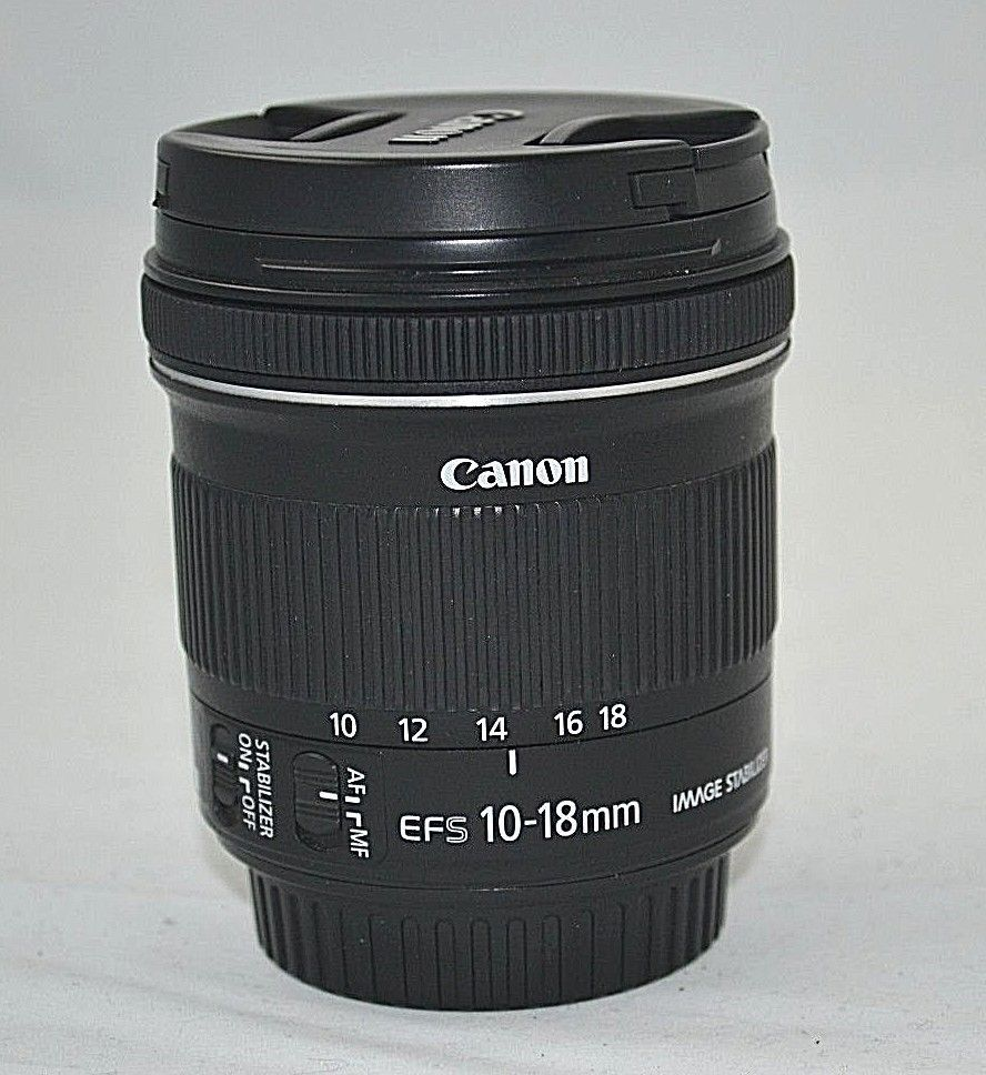 Canon Ef S 10 18mm F 4 5 5 6 Is Stm Lens Free Shipping 13803240764 Ebay 10 Things Lens Canon Ef
