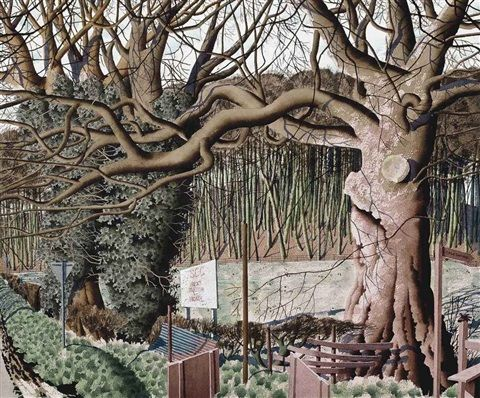 'Our Home Ground' by Simon Palmer (ink, watercolour and gouache)