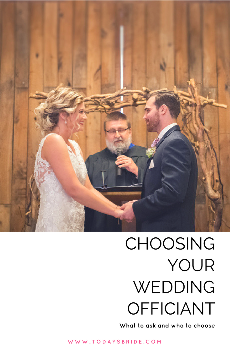 Choosing Your Wedding Officiant Today S Bride Blog Wedding Officiant Bride Blog Wedding