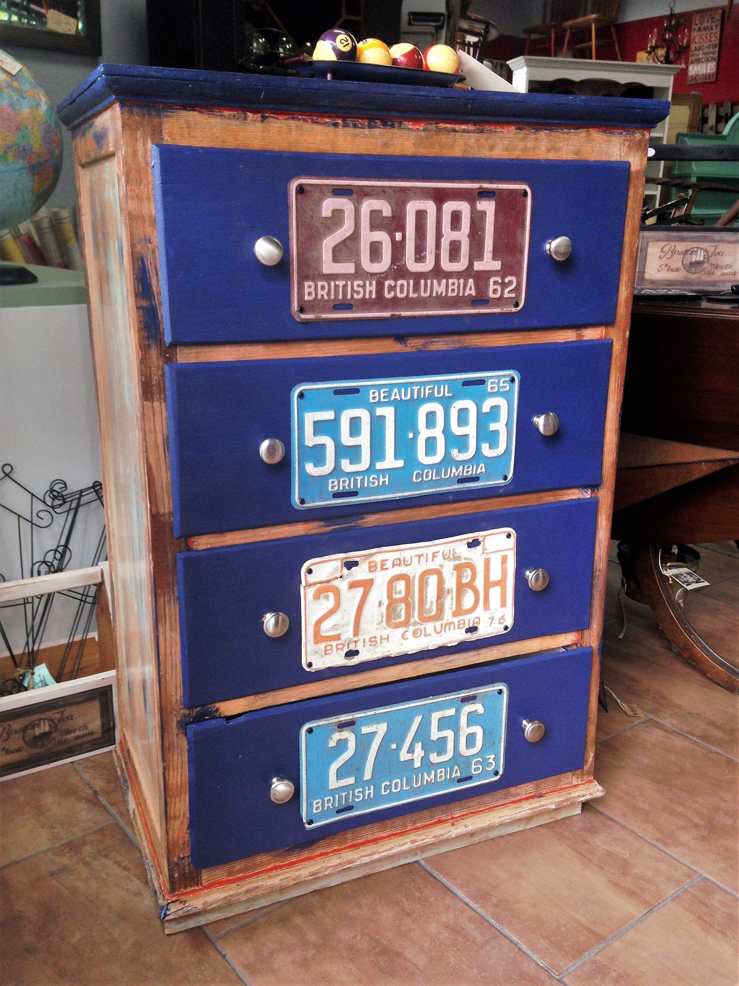 Vintage Licence Plate Dresser - ReLoving Furniture - http ...