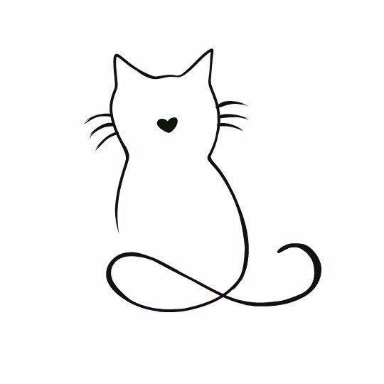 Wir Zeichnen Katzen Silhouetten Mit Kindern 9 Katzen Kindern Mit Silhouetten Wir Zeichnen Katzen Silhouette Katzen Tattoo Silhouette Tattoos Katze
