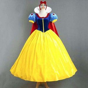 dc3df73325d Costume Blanche neige robe avec cape
