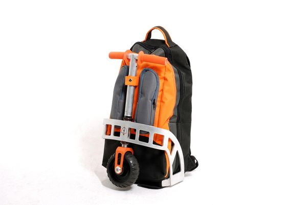 The scooter backpack makes alternate mobility even more appealing