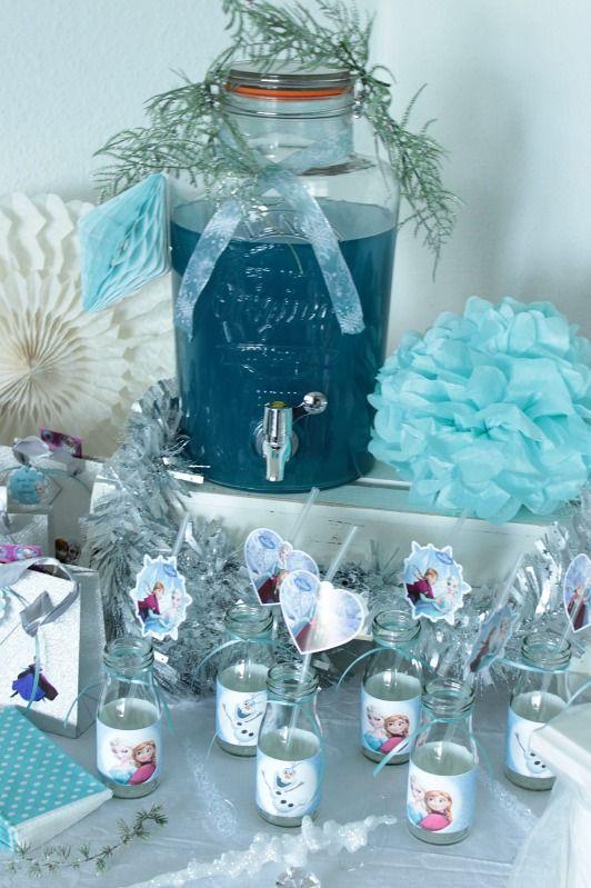 Eisknigin Geburtstagsparty Frozen Birthday Party Deko