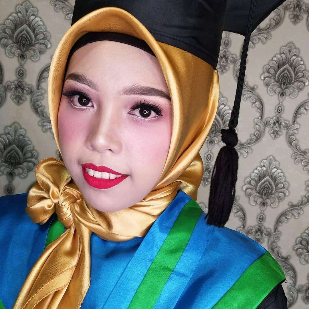 Makeup wisuda... Fashion, Makeup, Hijab