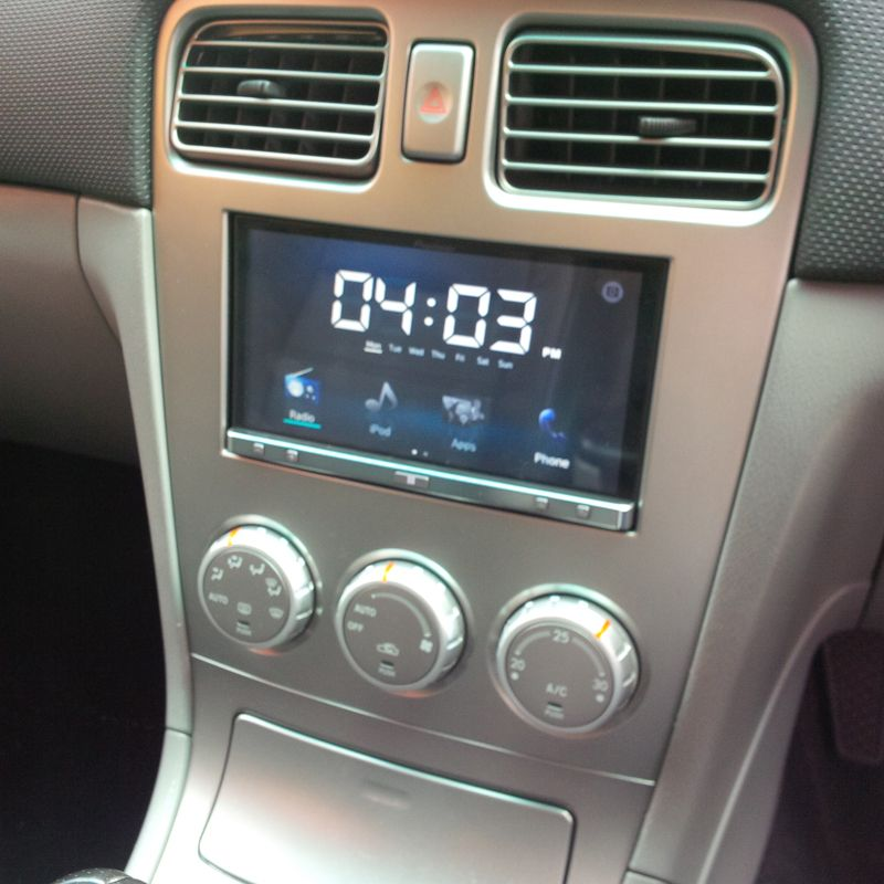 Subaru Forester 2007 Pioneer Sph Da100 App Radio Arabalar