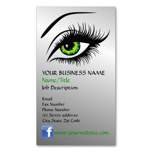 Eye Business Card Template Business Card Template Doctor Business Cards Business Card Design