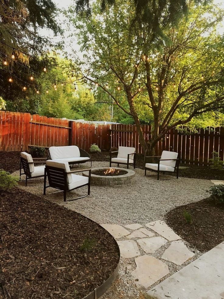 Outstanding Pergola Patio Ideas Covered Thank You To Troy Bilt For Sponsoring This Backyard Makeover Backyard Landscaping Designs Backyard Fire Backyard Patio